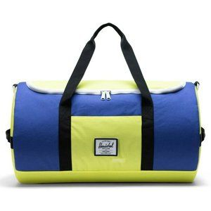 Herschel Colorblock Sutton Duffle Bag Green Blue